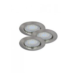 1163 - Lite spot GU10 3W LED fix, 3-as szett
