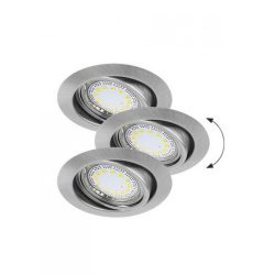 1166 - Lite spot GU10 3W LED billenthető, 3-as szett