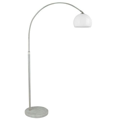 1372 - Base, állólámpa váz, talp E27 1x40W, szatin króm !!! kifutott termék, már nem rendelhető !!!