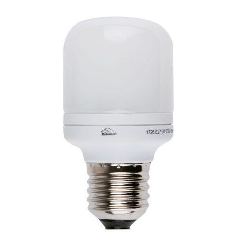 Rábalux E27 9W 406lm kis gömb kompakt fényforrás 10000h  2700K 1726 KIFUTÓ