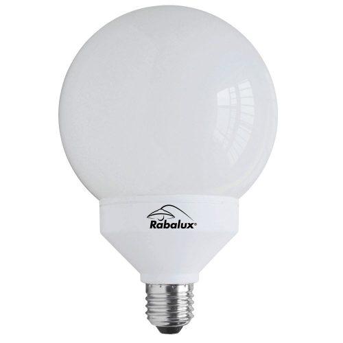 1781 - 25W E27 1520lm gömb kompakt fényforrás 10000h 2700K      !!! kifutott termék, már nem rendelhető !!!