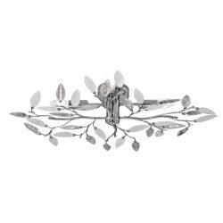 2839 - Lilian mennyezeti lámpa átlátszó és opál színű díszítésekkel
