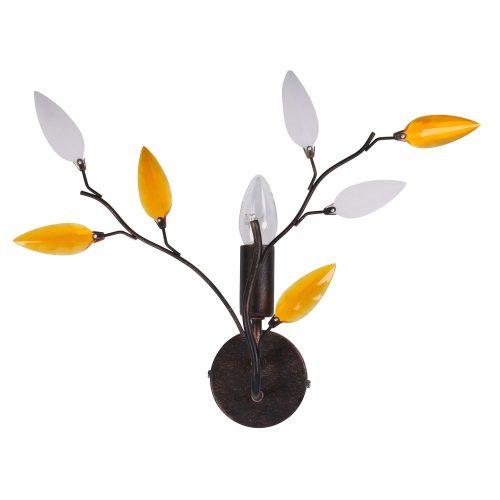 2850 - Lilian fali lámpa E14 40W antik barna !!! kifutott termék, már nem rendelhető !!!