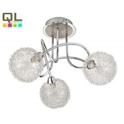 2889 - Cosmo fashion, mennyezeti lámpa, 3 kar, G9 33W fforrással, króm