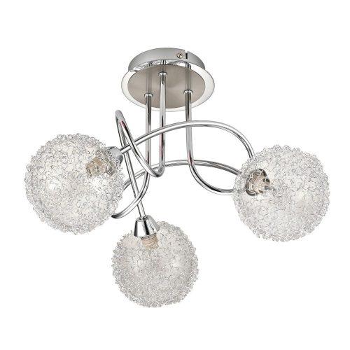 2889 - Cosmo fashion, mennyezeti lámpa, 3 kar, G9 33W fforrással, króm      !!! kifutott termék, már nem rendelhető !!!