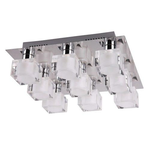 2962 - Diamond, mennyezeti lámpa G9 9x28W króm !!! kifutott termék, már nem rendelhető !!!