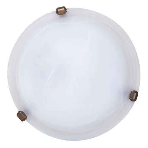 3203 - Alabastro, mennyezeti lámpa, D30cm