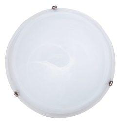 Rábalux fali lámpa 3759 - Alabastro 50x50cm mennyezeti lámpa, króm lemezfüllel