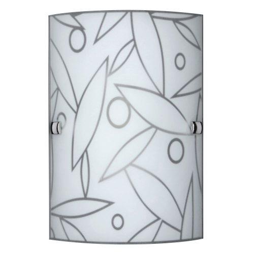 3841 - Flower, fali lámpa, 18x26cm !!! kifutott termék, már nem rendelhető !!!