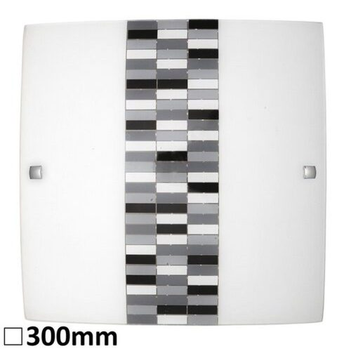3932 - Domino, mennyezeti lámpa, 30x30cm