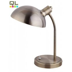 4158 - Gery asztali lámpa E14 40W bronz