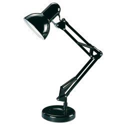 4212 - Samson, íróasztali lámpa FEKETE H49cm