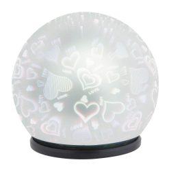Rábalux asztali lámpa Laila Színes elemes dekorációs lámpa 4551