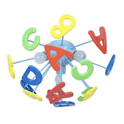 Rábalux gyermeklámpa 4608 - ABC mennyezeti lámpa E14,3*40W