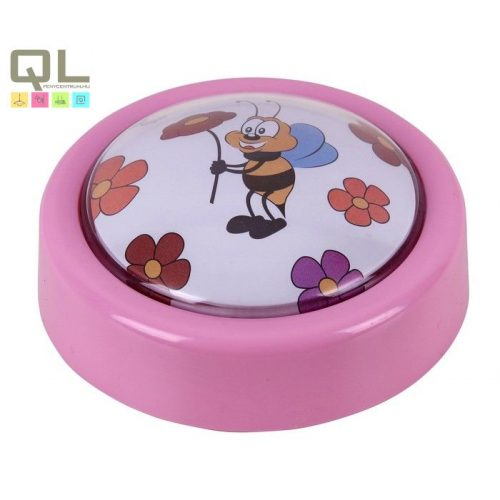 Rábalux gyermeklámpa 4709 - Sweet push light, 2xAA 1,5V elem nem tartozék !!! kifutott termék, már nem rendelhető !!!