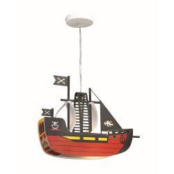 Rábalux gyermeklámpa 4719 - Ship, függeszték, L37cm