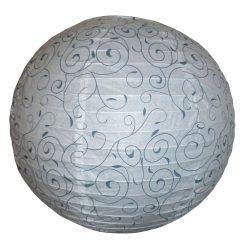 Rábalux függeszték 4725 - Harmony lux, mintás rizspapír lámpaernyő