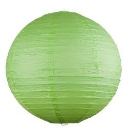 4891 - Rice rizspapír lámpaernyő zöld D30cm