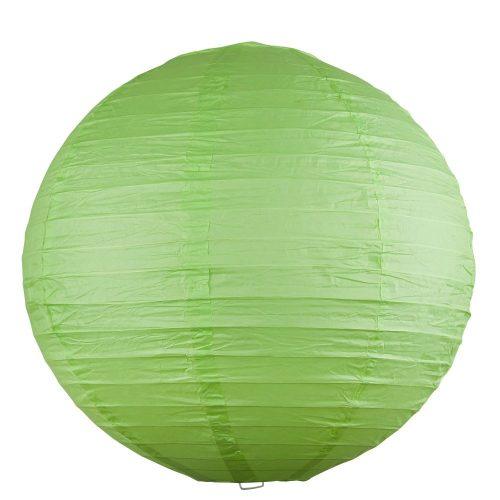 Rábalux függeszték 4891 - Rice rizspapír lámpaernyő zöld D30cm      !!! kifutott termék, már nem rendelhető !!!
