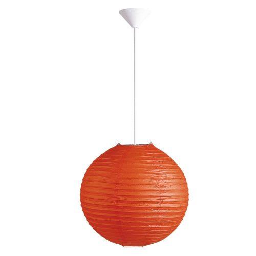 Rábalux függeszték 4892 - Rice rizspapír lámpaernyő narancs D30cm      !!! kifutott termék, már nem rendelhető !!!