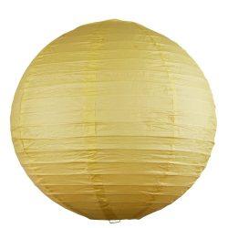 4893 - Rice rizspapír lámpaernyő sárga D30cm