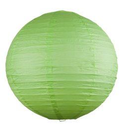 4895 - Rice rizspapír lámpaernyő zöld D40cm