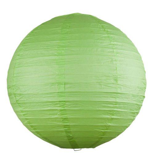 Rábalux függeszték 4895 - Rice rizspapír lámpaernyő zöld D40cm      !!! kifutott termék, már nem rendelhető !!!