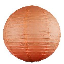 4896 - Rice rizspapír lámpaernyő narancs D40cm