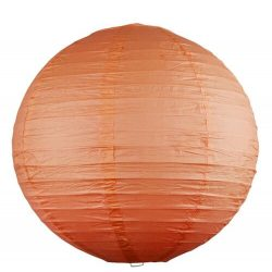 Rábalux függeszték 4896 - Rice rizspapír lámpaernyő narancs D40cm