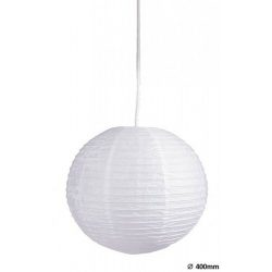 4898 - Rice rizspapír lámpaernyő fehér D40cm