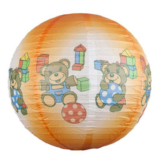 Rábalux gyermeklámpa 4900 - Sweet ball, függeszték búra, D40cm      !!! kifutott termék, már nem rendelhető !!!