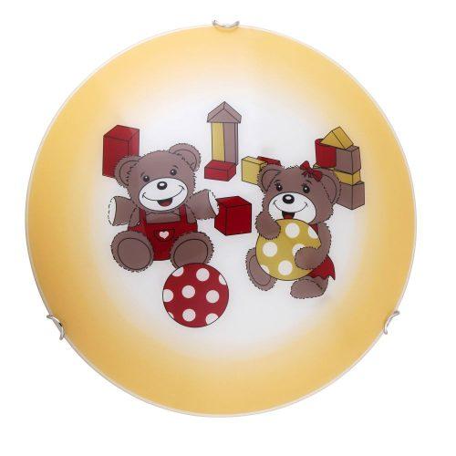 Rábalux gyermeklámpa 4970 - Sweet dream D40 mennyezeti lámpa Bear      !!! kifutott termék, már nem rendelhető !!!