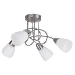 6079 - Polla mennyezeti lámpa, 4*E14/40W, szatin-króm
