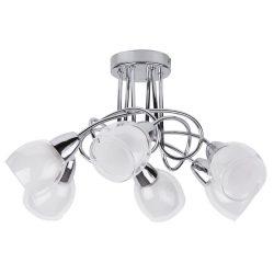 6085 - Dave mennyezeti lámpa, 6*E14/40W, króm