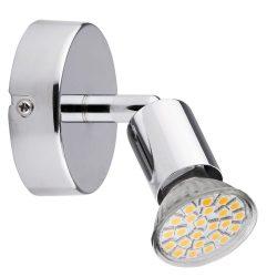 6986 - Norton LED, spot 1-es GU10/3W LED króm