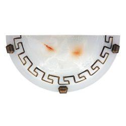 7647 - Etrusco, fali lámpa, D30cm