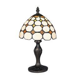 8072 - Marvel, tiffany asztali lámpa, H36,5cm