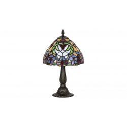 8089 - Mirella, Tiffany asztali lámpa, E14 1x40w