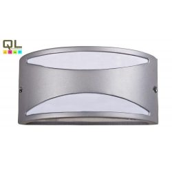 8360 - Manhattan kulteri E27 60W IP54 ezüst, UV álló műanyag búra
