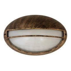 8496 - Hektor, kültéri mennyezeti lámpa, ovális, 32x20,5cm