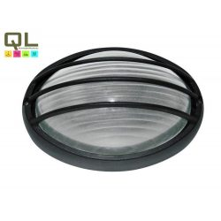 8498 - Hektor, kültéri mennyezeti lámpa, ovális, 32x20,5cm