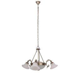 8553 - Orchidea, függeszték,  3 ágú, D86cm