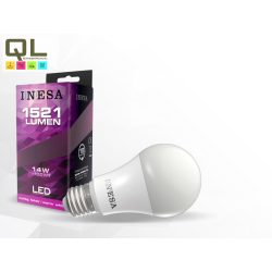 LED 14W körte alakú melegfehér fényforrás E27 1521lm 60292