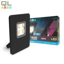 INESA LED fényvető, reflektor 20W 4000K 60448