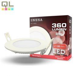LED PANEL 120mm 6W 3000K 60535