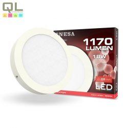 LED mennyezeti lámpa 18W 3000K 60550
