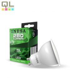 INESA GU10 LED Spot 4W természetes fehér színhőmérséklettel 105° 60566