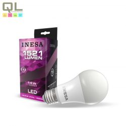 INESA LED E27 körte izzó 4000K 14W 180° 60611