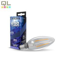 E14 LED szálas Gyertya 2W 2700K 60619