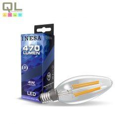 E14 LED szálas Gyertya 4W 2700K 60620